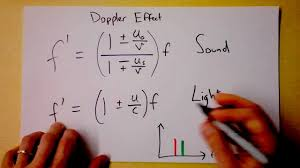 Doppler Effect And Light Doppler Effect For Light Red Shift And Accelerated Expansion Of The Universe Doc Physics