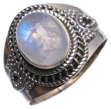 indian moonstone jewelry fresh stargems tm natural rainbow moonstone handmade indian 925 sterling