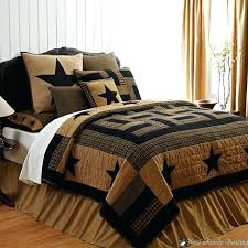 country bedding sets red brown rustic western star twin queen cal king quilt throughout bed whole country bedding