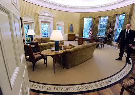 Obamas Botched Oval Office Rug Lee Hernly