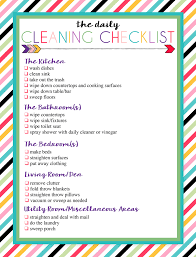 Bathroom Cleaning Schedule Stunning Free Printable Daily And Weekly Cleaning Lists Elf On The Shelf