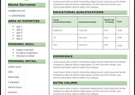 cute fresher resume format resume for fresher cvformatin fresher freshers resume formats
