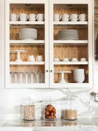 Dish Display Cabinet Color In The Kitchen Alice Lane