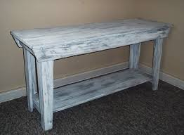 distressed entry table. amazing distressed entry table