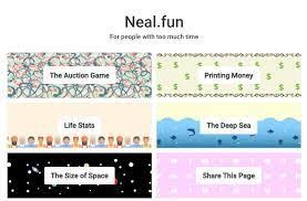 Neal.fun | Jogos educativos, Educativo, Educação