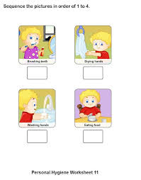 Personal Hygiene Worksheets For Kids – Collection (9 16 ...