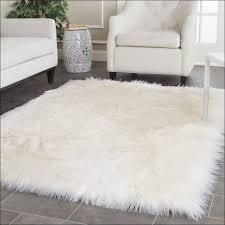 fuzzy rugs interiors white soft fluffy area rug