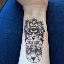1 Kus Květina Rameno Vzor Tetování Samolepky Drak Vodotěsný Dočasné Tetování Samolepka Diy Pokrytí Jizvy Papíru