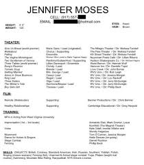Special Skills Acting Resume Examples Of Special Skills For Acting Special  Skills For Resume
