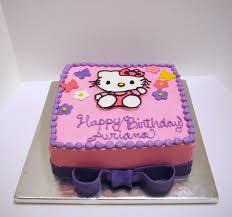 Hello Kitty Birthday Cake Cakecentralcom