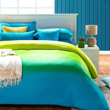 turquoise king size bedding green and blue comforter set full queen cover sheet 4
