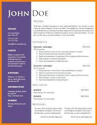 Free Word Document Download Resume Template Word Doc Skinalluremedspa Com
