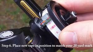 Hha Sight Tape Chart Hha King Pin Sight Calibration Made Easy