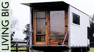 Tiny Truck Living Simply In A Wonderful Tiny House Truck Youtube