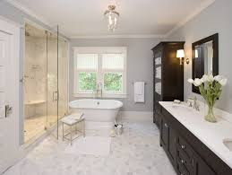 traditional bathroom lighting ideas white free standin. nero marquina marble tile floor bathroom traditional with hex showerheads and body sprays lighting ideas white free standin r