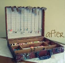 craft4 634x614 13 DIY Clever Ways How To Re purpose Old Vintage Suitcase