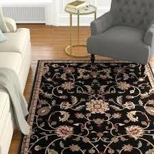 dark brown area rug solid home