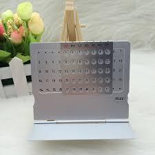 stand up desk calendars aliexpress com item 2016 mini aluminium alloy 18