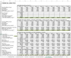 Lease Analysis Excel Template Mythologen Info