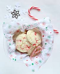 White Chocolate Peppermint Cake Mix Cookies Life a Little Brighter