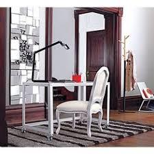 go cart white desk in all office cb2 cb2 office