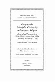 essays on the principles of morality and natural religion online 0995 tp