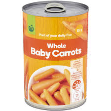 baby carrots. Plain Carrots Woolworths Whole Baby Carrots Image On