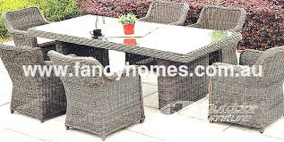 wicker patio dining chairs. Resin Wicker Dining Chairs Best Outdoor Set Oxford Table With 6 Patio