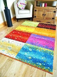 area rugs geometric rainbow area rugs medium size of bright multi colored contemporary white rug geometric