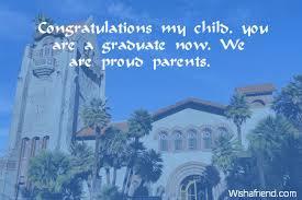 Graduation Quotes For Son Impressive Graduation Messages From Parents