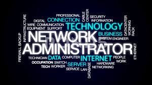 Network Administrator Network Administrator Animated Word Cloud Text Design Animation