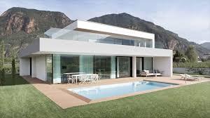 White Modern Glass Houses - YouTube