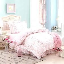 beauty pink bed set queen bedding