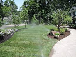 from dirt to lush and green garden state irrigation lighting