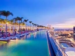 infinity pool singapore night. Infinity Pool Singapore Night