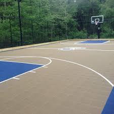 um size of outdoor basketball court lighting design indoor tennis requirements