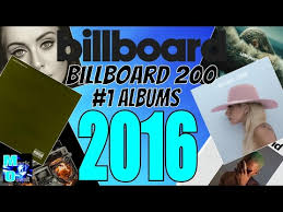 Billboard 200 1 Albums Of 2016 Year End Chart