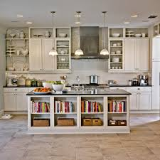 bookshelf island diy kitchen island