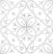 Small Flower Coloring Pages Flowers To Color Printable Download Lily