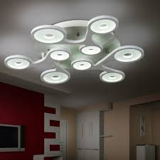 home lighting guide. Flush Mount Modern Ceiling Light For Living Room Circular Acrylic Guide Plate Lamparas Techo Home Lighting
