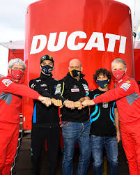 Ducati - It's official! Enea Bastianini and Luca Marini...