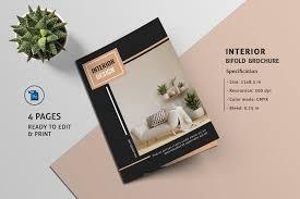 Design Brochure Template Interior Design Brochure Template On Behance