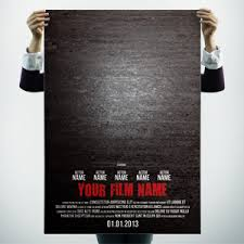 11 Movie Poster Psd Templates Samples Hollywood Films