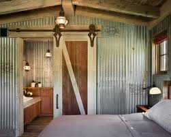 Small Picture Corrugated Metal Wall Bedroom Ideas Design Photos Houzz