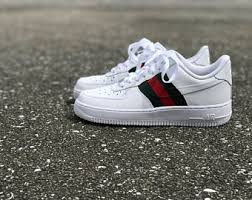 gucci 1s. nike air force 1 gucci custom by fawl 1s r