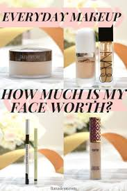 do you know how much your everyday makeup s cost i added up the cost