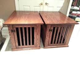 wooden dog crate table pet crate table dog crate end table large wooden dog crate coffee