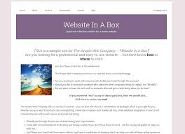 the simple web company wordpress websites uk abroad this is a sample site so you can see what your site could look like