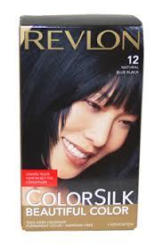 colorsilk beautiful color 12 natural blue black revlon image