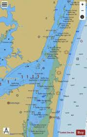 Redfish Bay To Middle Ground Side B Marine Chart